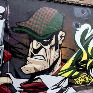 Free Graffiti and Street Art Tour of London